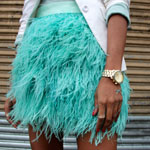 Ostrich Feather Skirt Gallery Thumbnail
