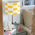 Fabric Covered Lampshade 150x150C