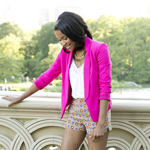 Hot Pink Blazer Gallery Thumbnail