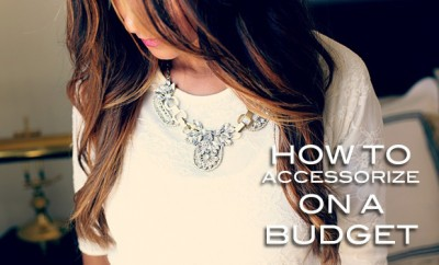 Accessorize on a budget