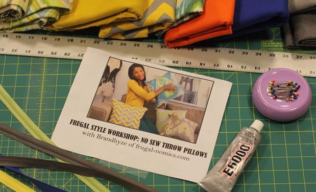 Schermerhorn Throw Pillow Workshop Gallery Thumbnail