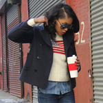 Flag Sweater, Red Hunter Boots, Nautical Coat Gallery Thumbnail